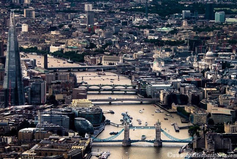 London Helicopter Tower Bridge