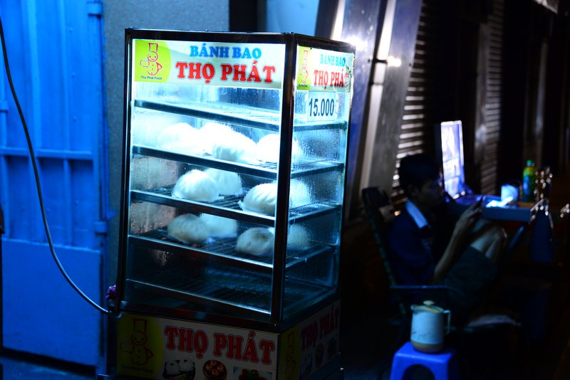 street food of Vietnam Bun bao