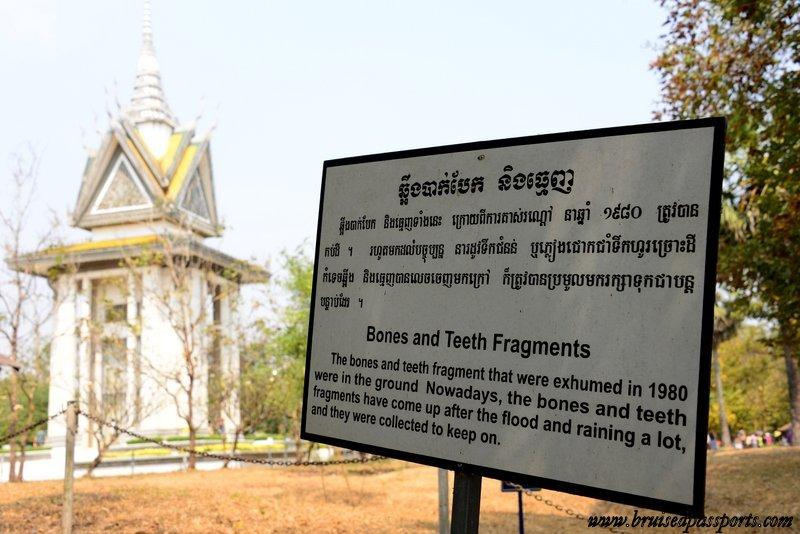 visiting the killing fields phnom penh