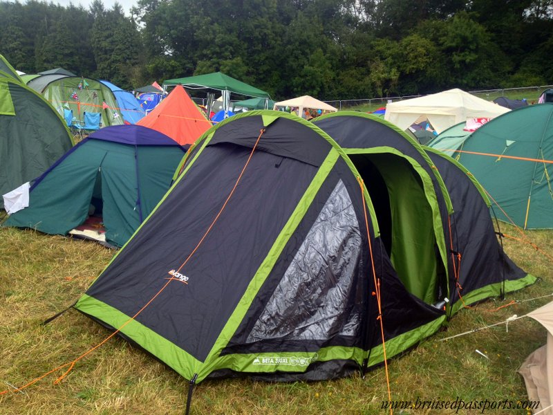 Vango Beta 350XL 3 Person Adventure Tunnel Tent ...