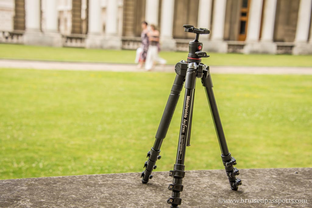 Manfrotto BeFree Travel Tripod for Photography