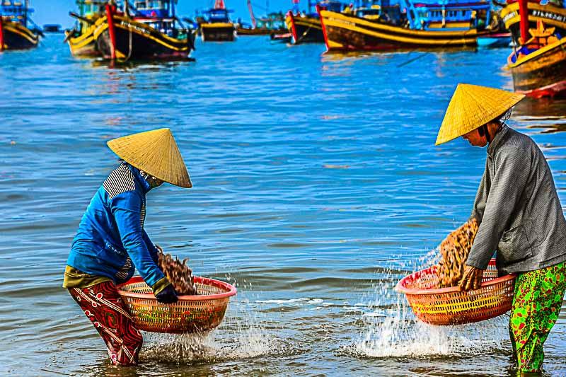 Mui Ne fishing village Vietnam