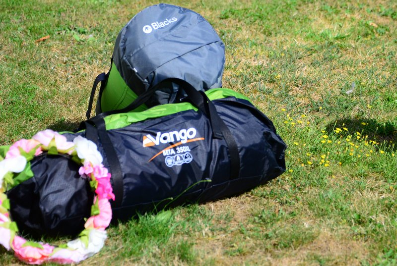 guide to packing for a music festival Vango tent