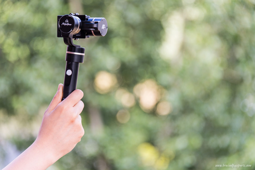 The GoPro and gimbal go hand-in-hand now :)