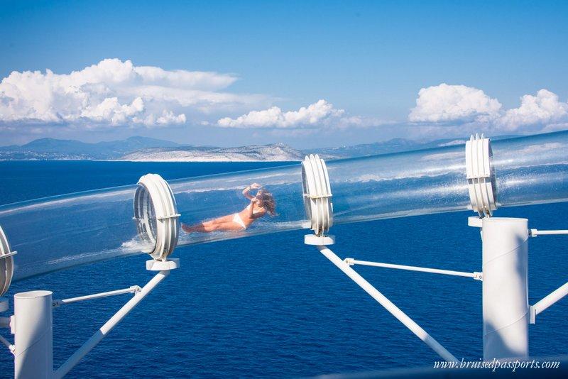 MSC Preziosa water slide