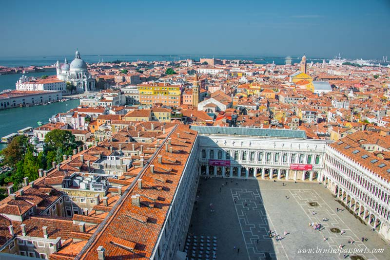A panoramic view from San Marco's Bell Tower
