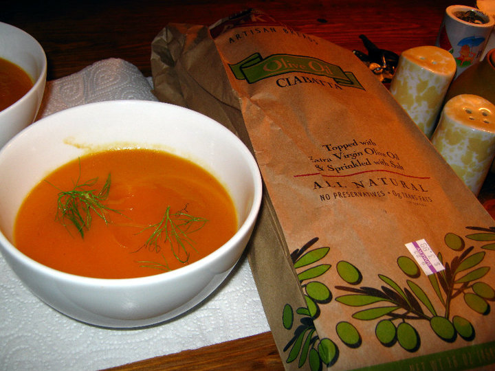 Stop for a bowlful of homemade pumpkin soup in Connecticut