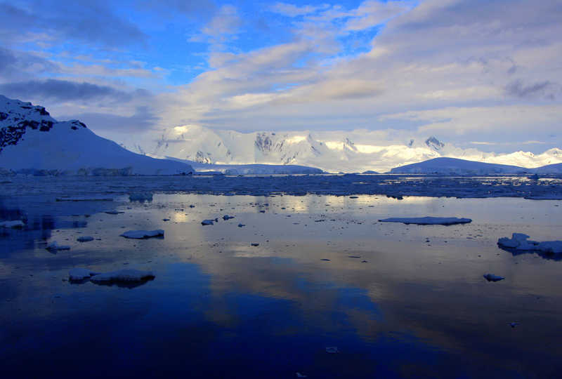 Panoramas in Antarctica are truly special
