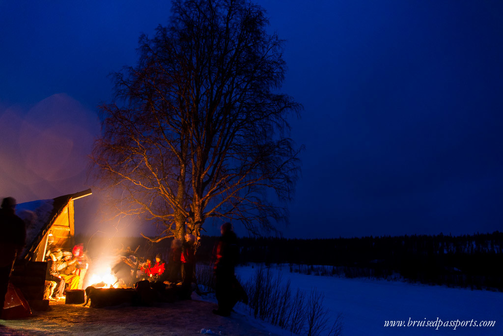 Lapland Itinerary Northern Lights Safari Rovaniemi