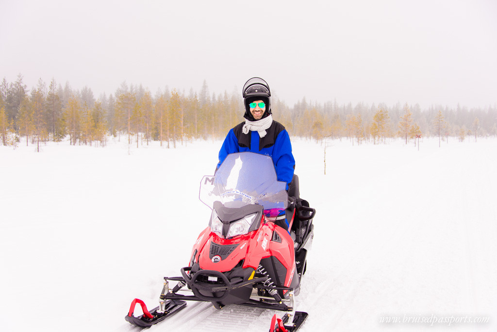 Lapland Itinerary snowmobile safari Rovaniemi