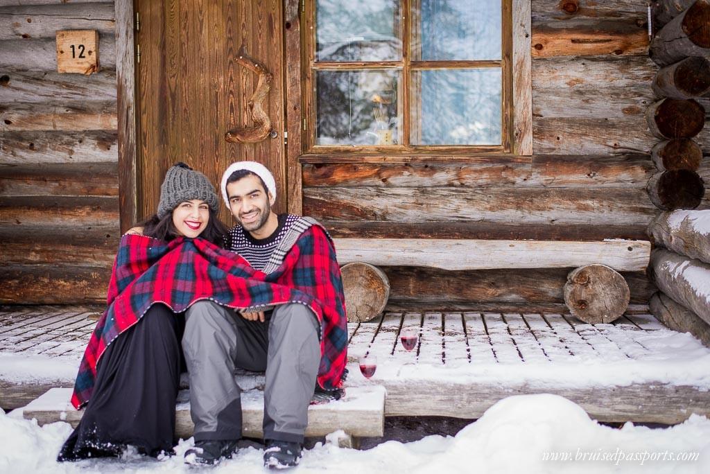 Log Cabins Kakslauttanen Arctic Resort
