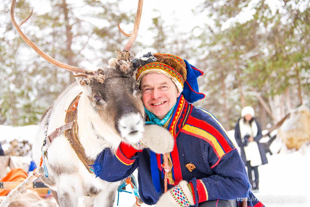 Sami people lapland finland