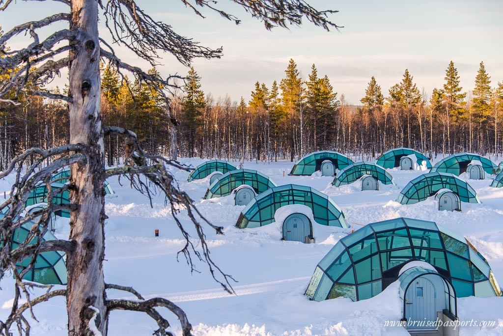 Igloos at Kakslauttanen Arctic Resort