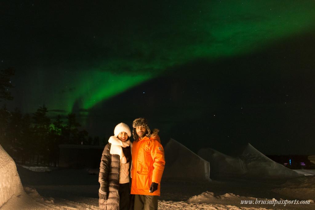 Northern Lights Kakslauttanen Arctic Resort Lapland Finland