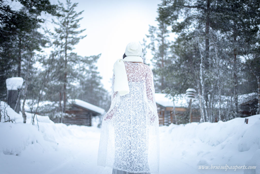 Travel fashion lapland finland