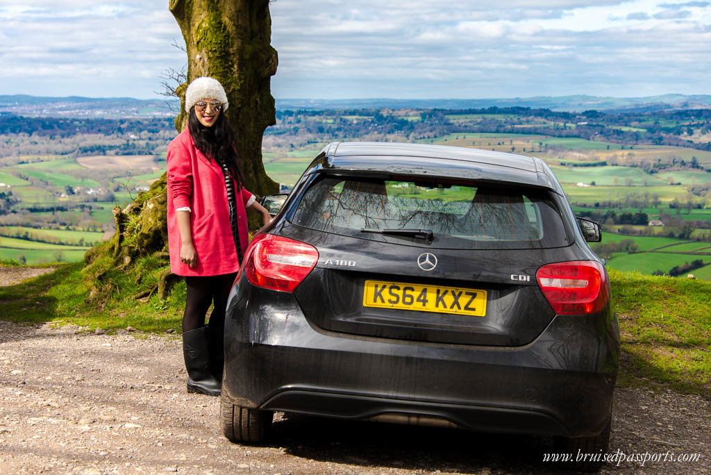 Road trip London Devon rental car