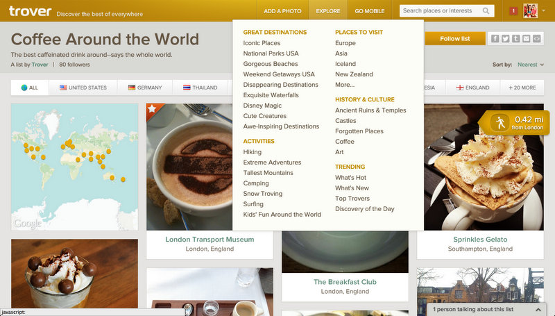 Travel App trover review