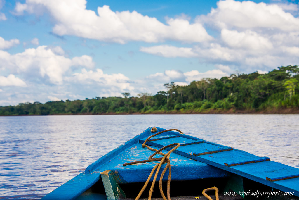 Peruvian Amazon Rainforest Expeditions Villa Review- tambopata boat