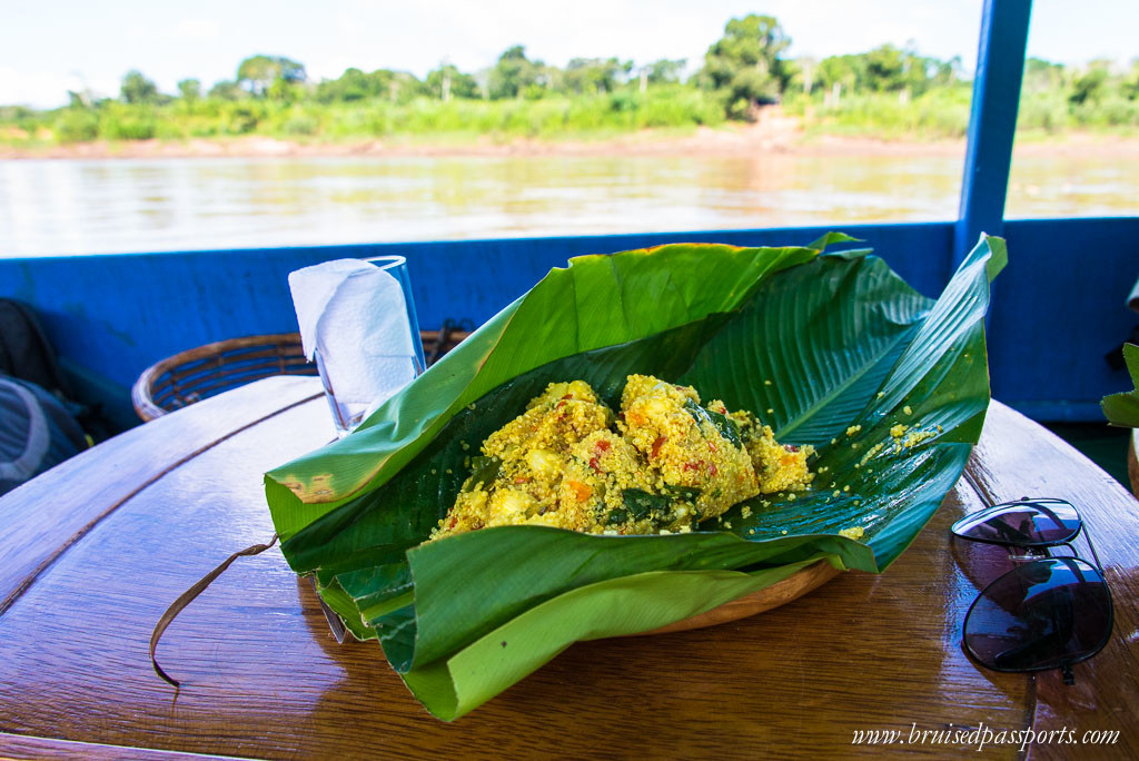 Tambopata Natural Reserve boat