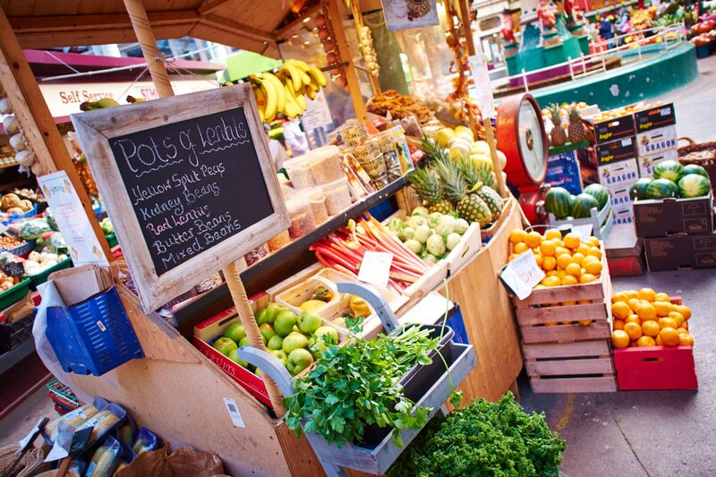 We've been missing UK's local markets brimming with fresh produce