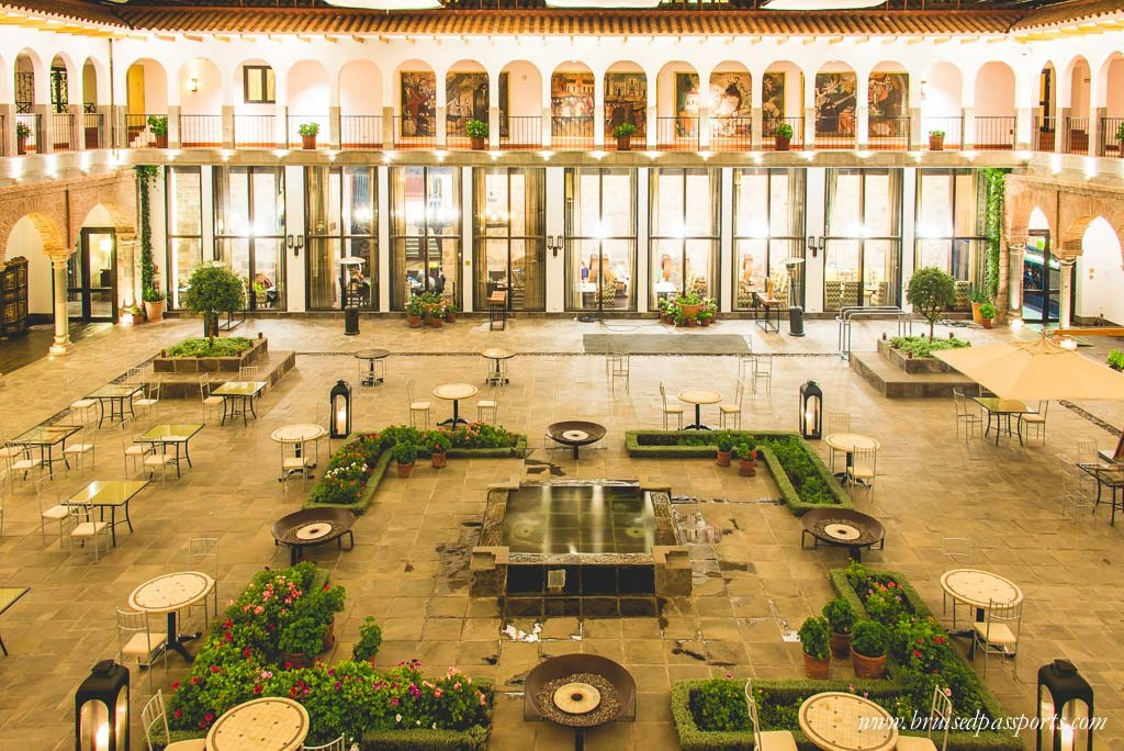 Courtyard at JW Marriott Cusco