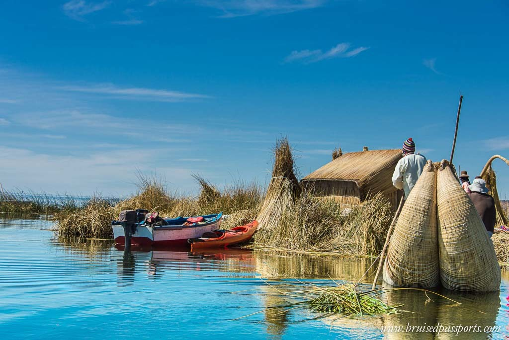 luxury-Peru Itinerary-South America-lake-titicaca-floating-islands-uros
