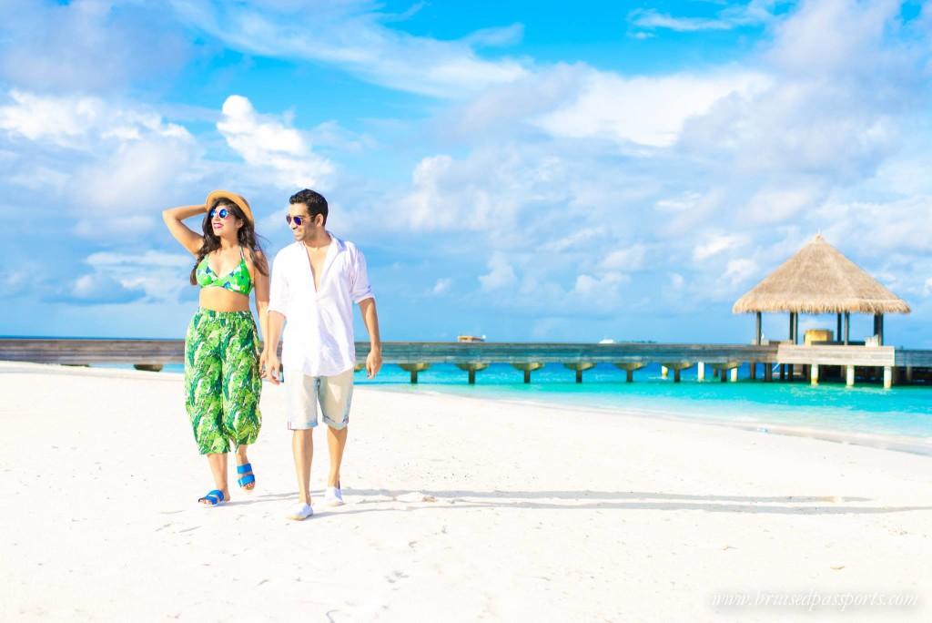 Tropical bikini Packing for Maldives