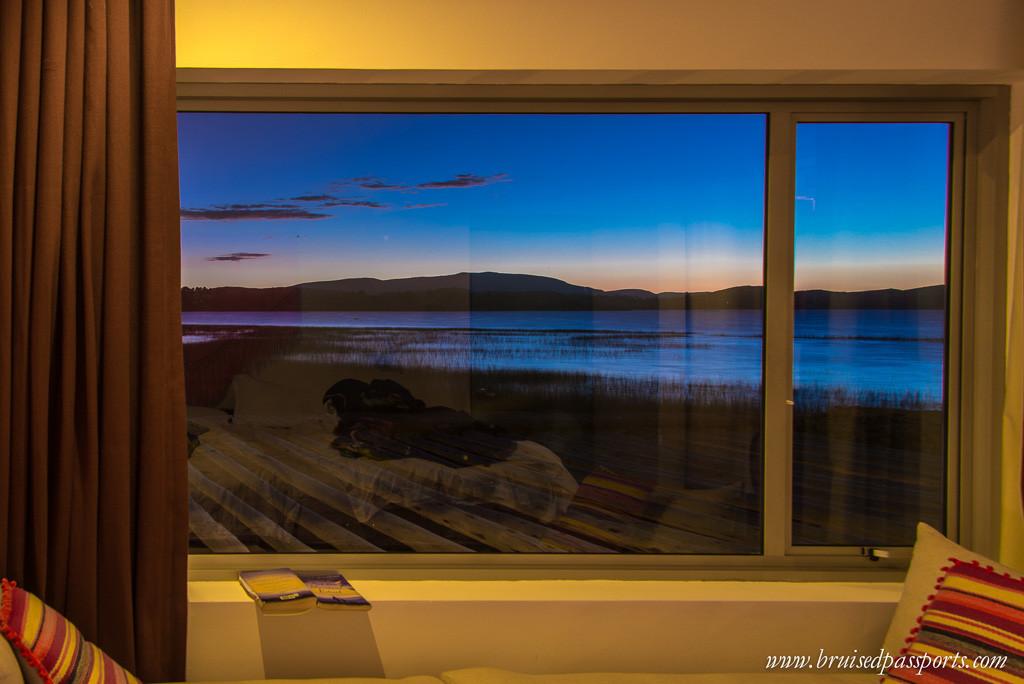 Lake-Titicaca-Hotel-Titilaka-sunset