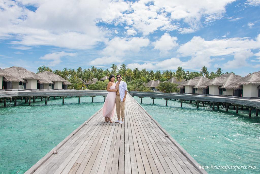 packing for maldives pastel maxi dress white shirt