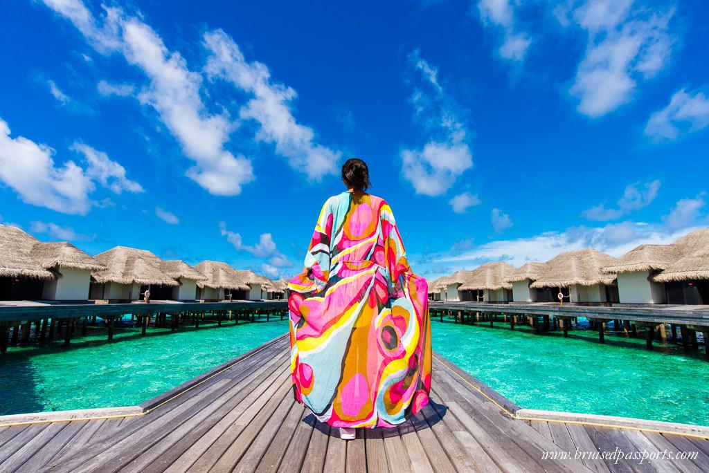 flowy bohemian maxi kimono