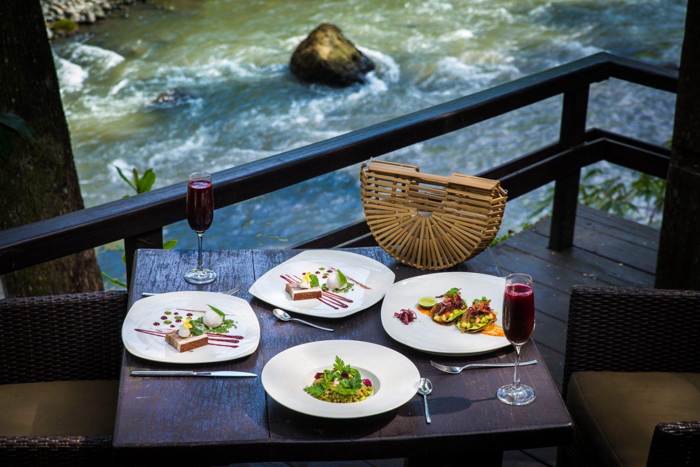 Vegan fine-dining at Sakti Dining Room, Ubud