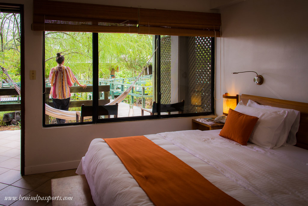 Finch bay hotel Galapagos garden-view room