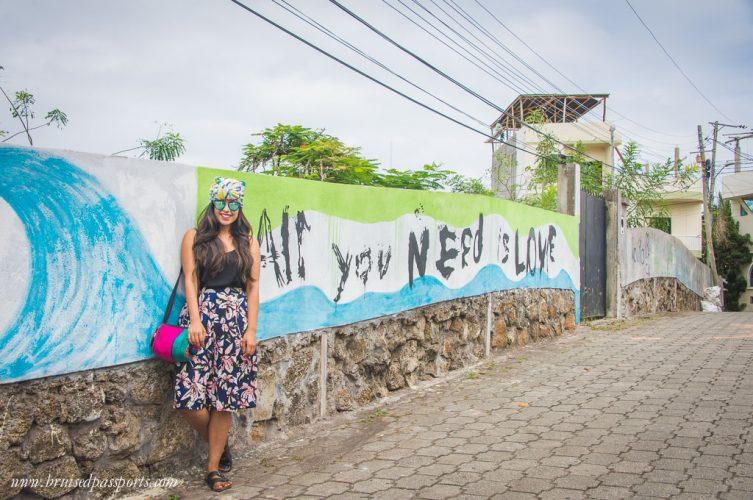 Santa cruz galapagos island street art