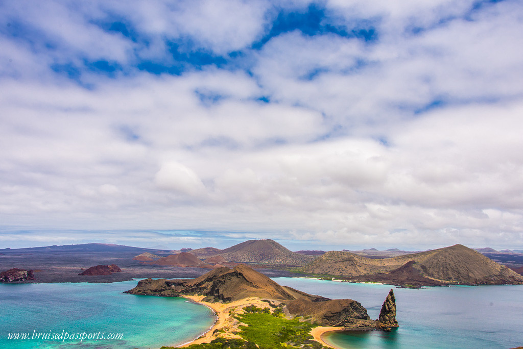 Pinnacle rock - one of the most photographed locations in Galapagos Islands