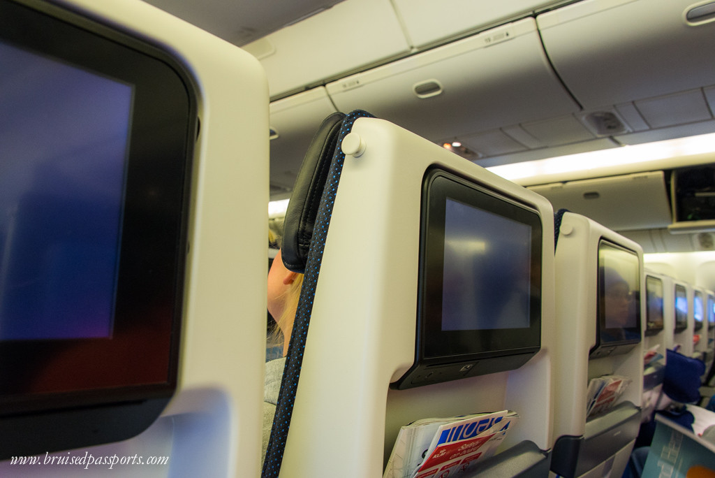 KLM in-flight personal TV systems