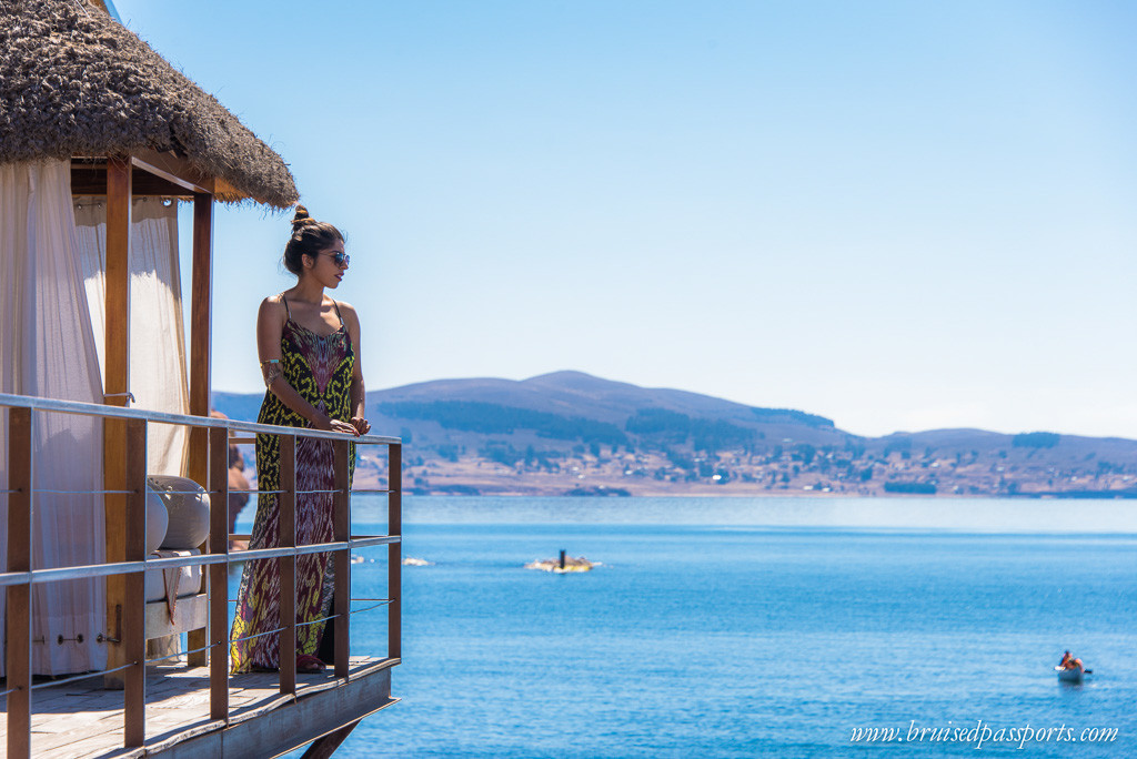 Lake Titicaca Peru travel fashion outfit