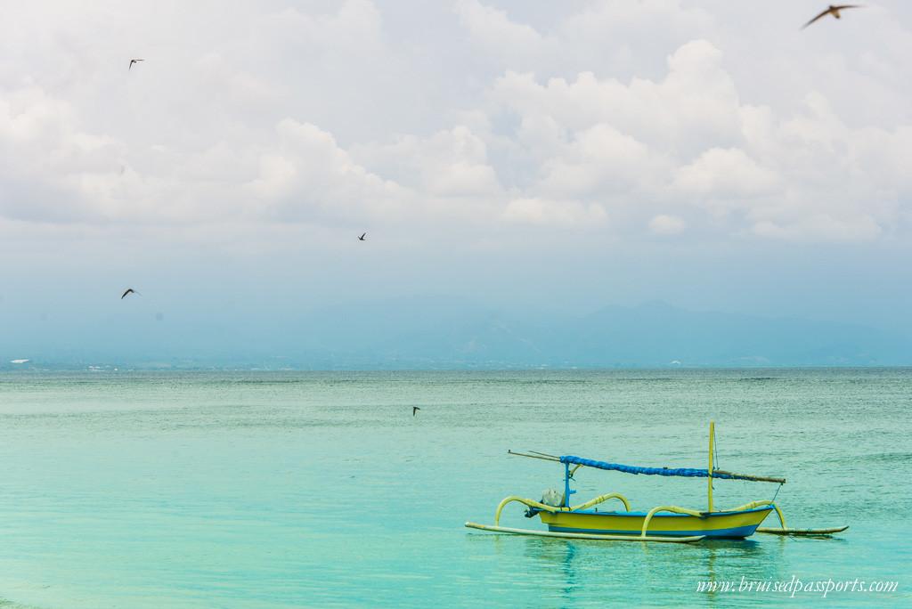 Peaceful Sanur beach