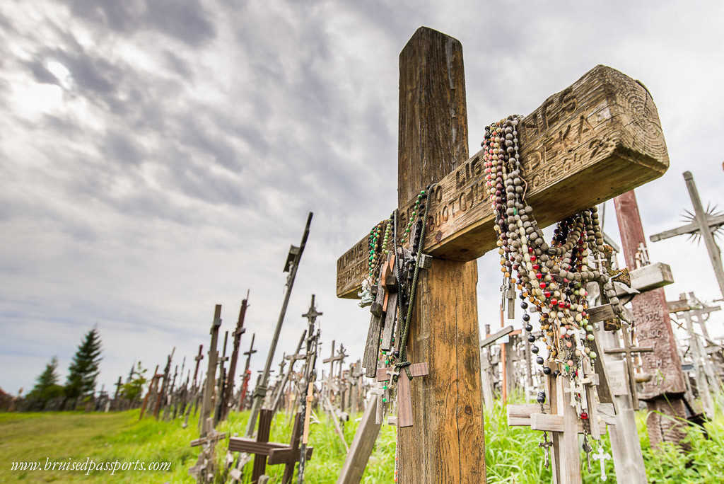 Baltics road trip itinerary the hill of crosses lithuania