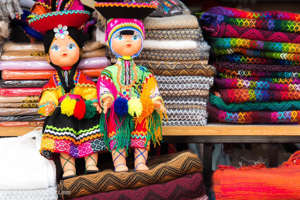 Handicrafts in Peru