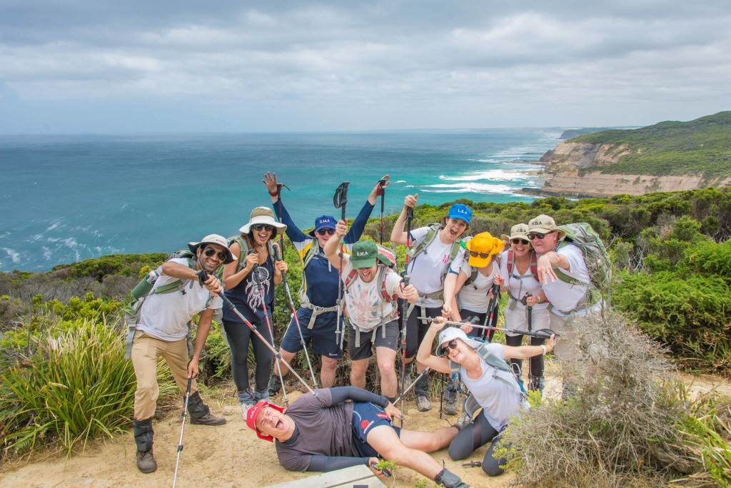Great Ocean Walk glamping group