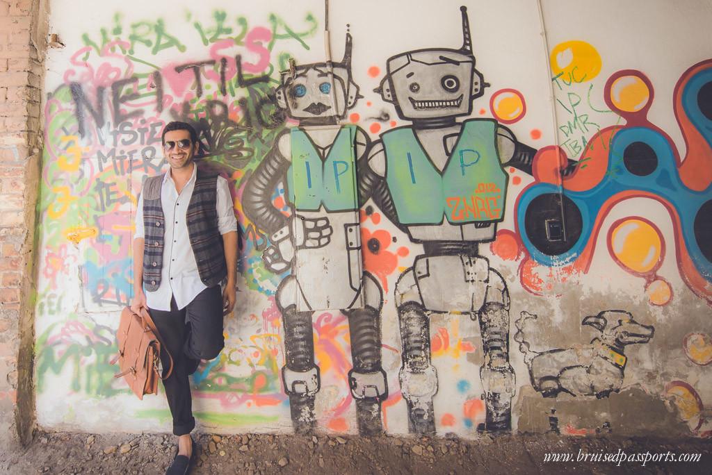 Vid at Riga's hipster meca Miera Iela