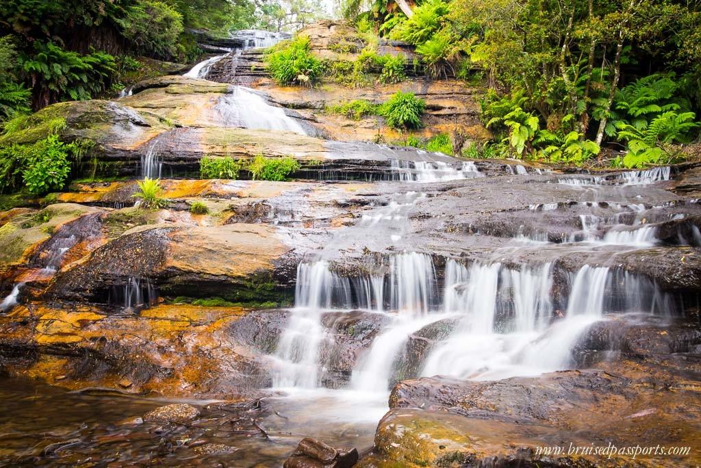 Katoomba Falls Blue Mountains Australia Road Trip