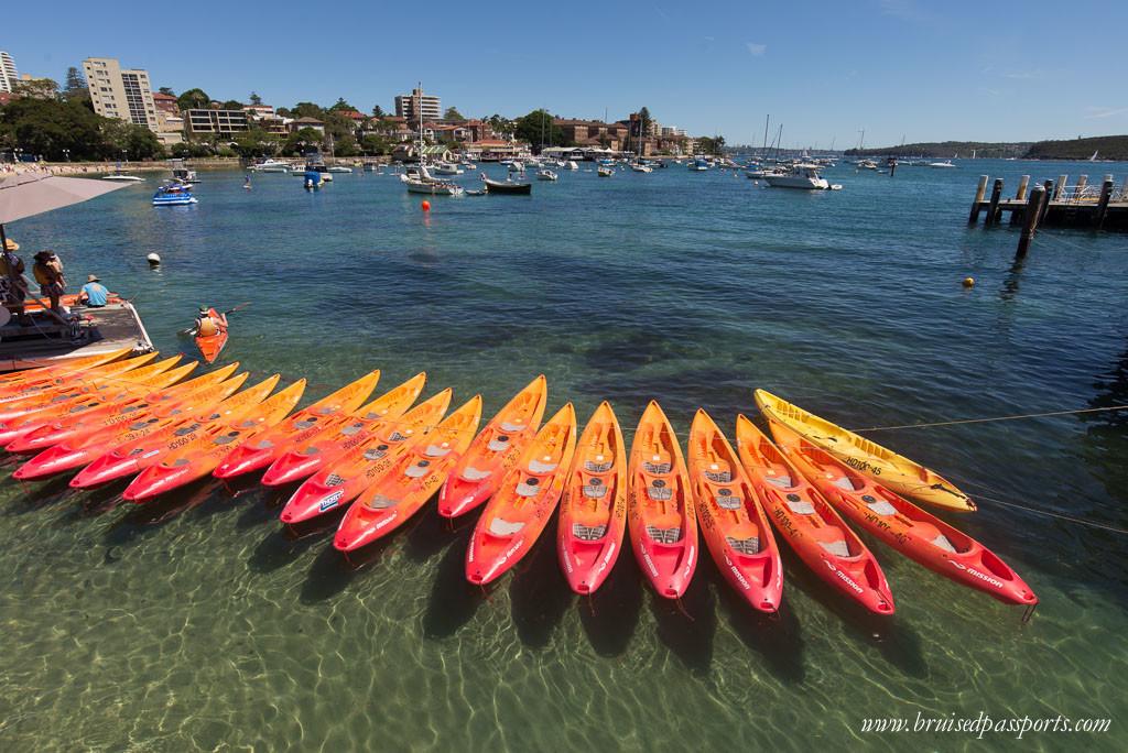 Driving around Australia Manly Beach Sydney