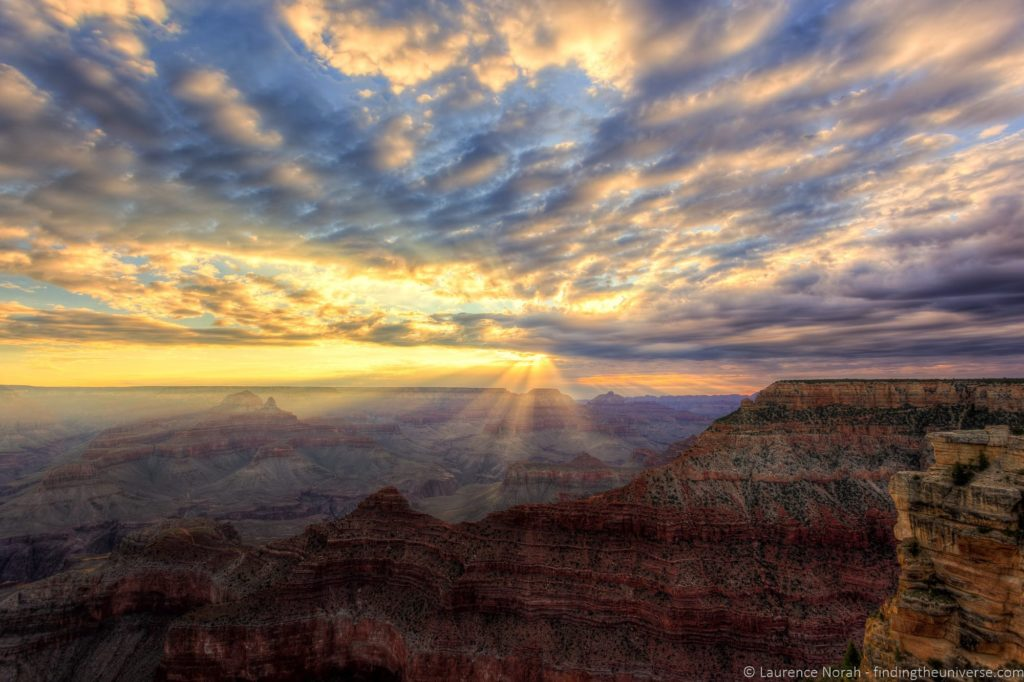 Grand canyon sunrise Mather Point 4