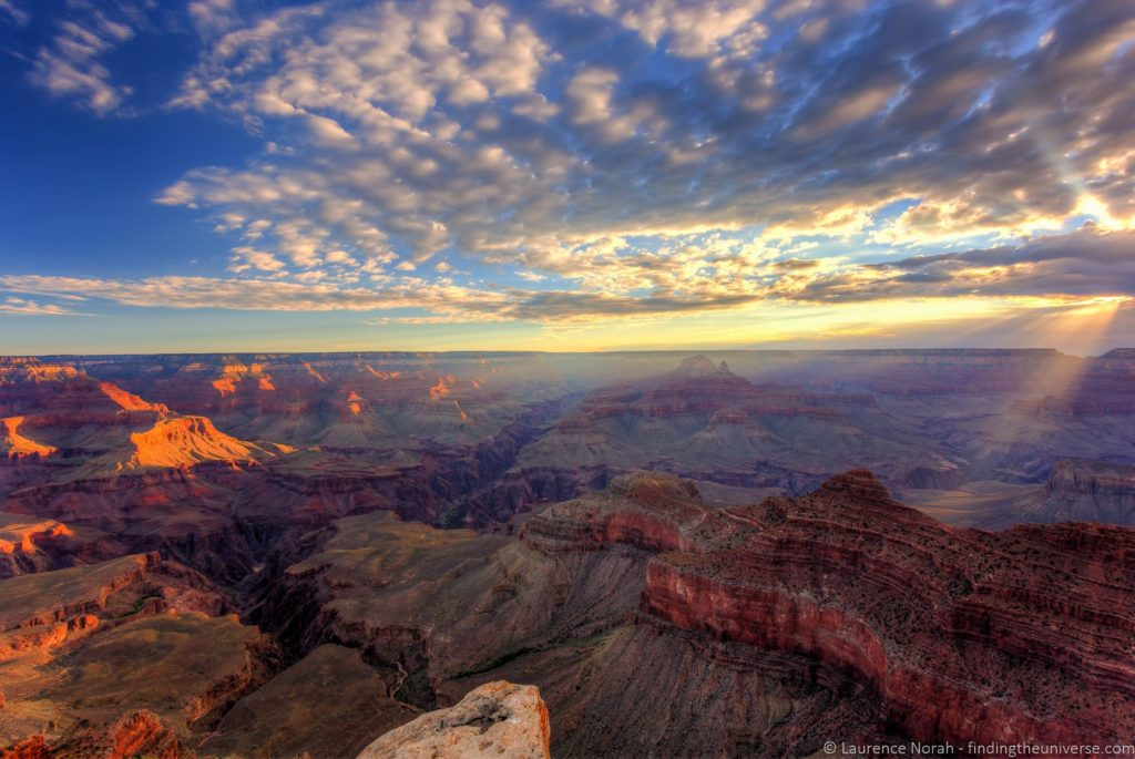 Grand canyon sunrise Mather Point 6