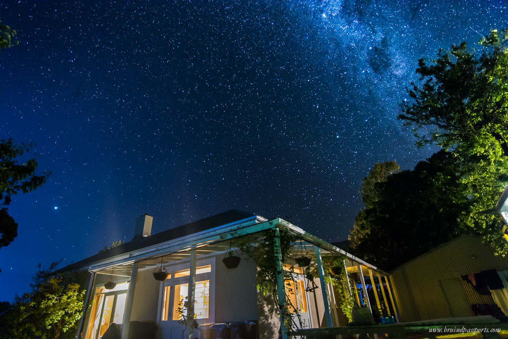 New Zealand Road Trip itinerary queenstown night sky