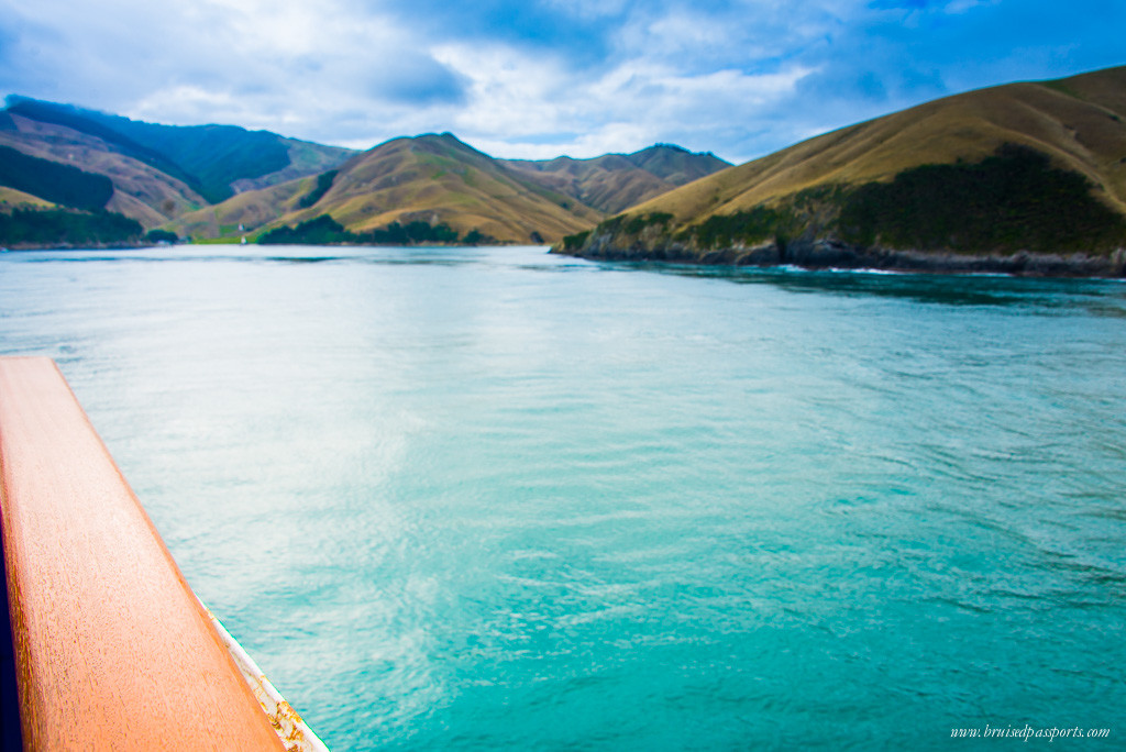 New Zealand Road Trip itinerary ferry crossing