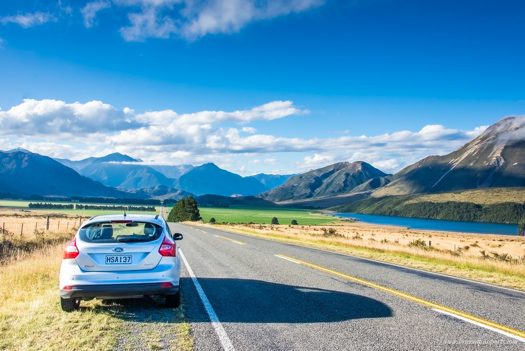 New Zealand Road Trip itinerary driving