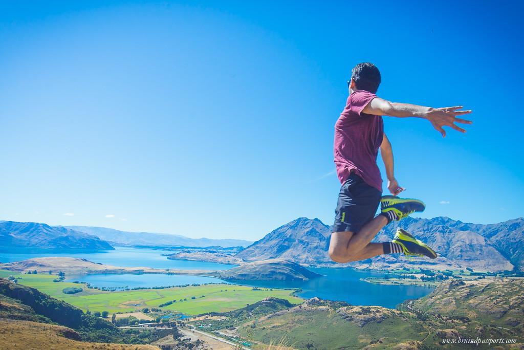 New Zealand travel fashion hiking