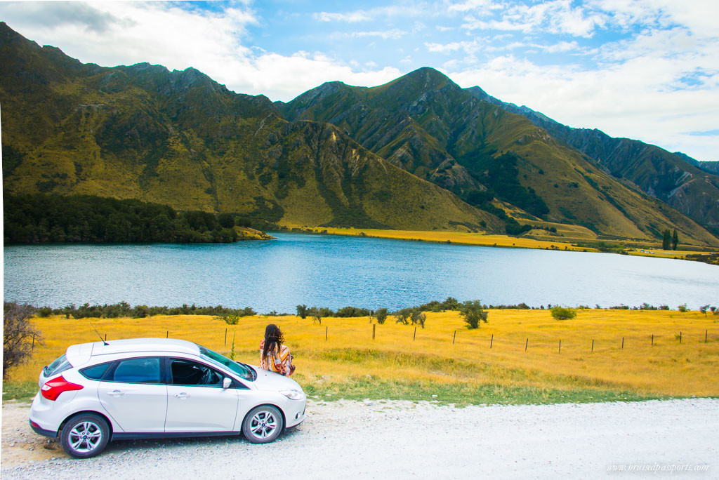 New Zealand Road Trip itinerary Queenstown drive Lake Moke